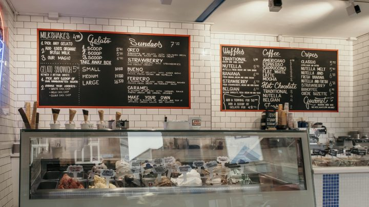 Scoop Dessert Parlour store in Dublin Ireland