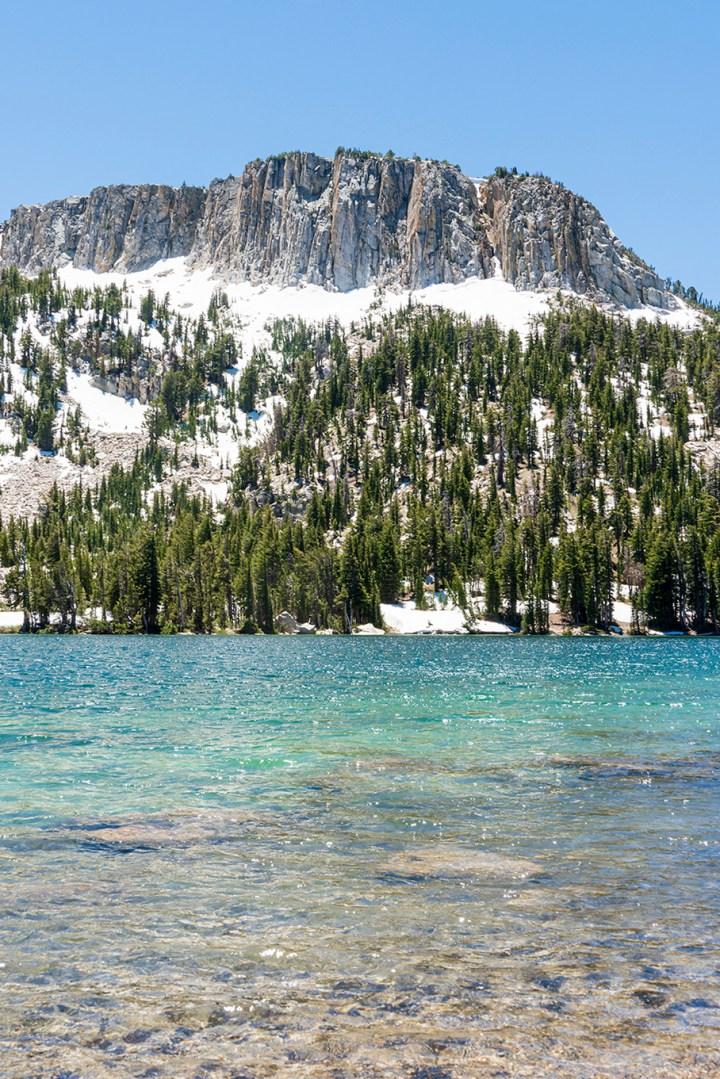 Mcleod Lake in Mammoth Lakes Basin California