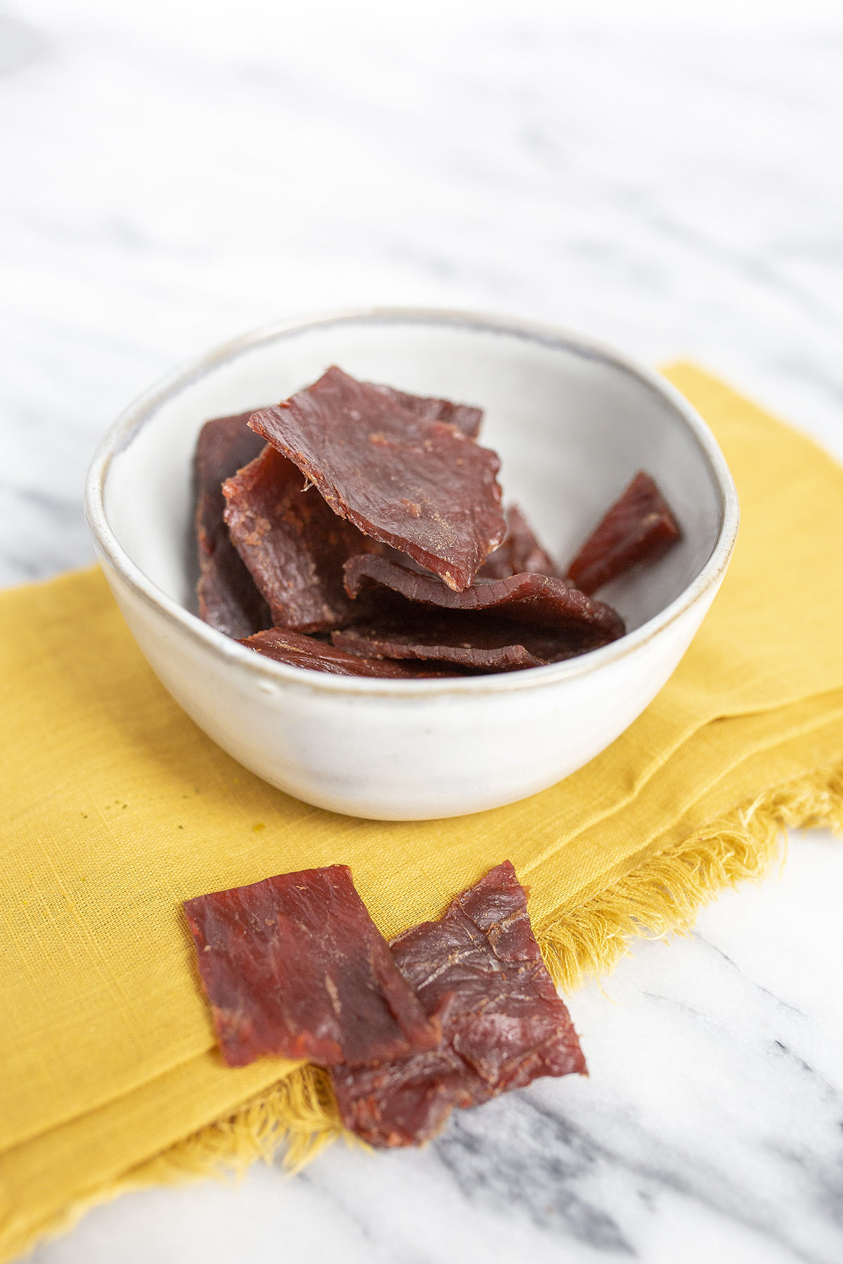 Store bought healthy snack : Beef Jerky
