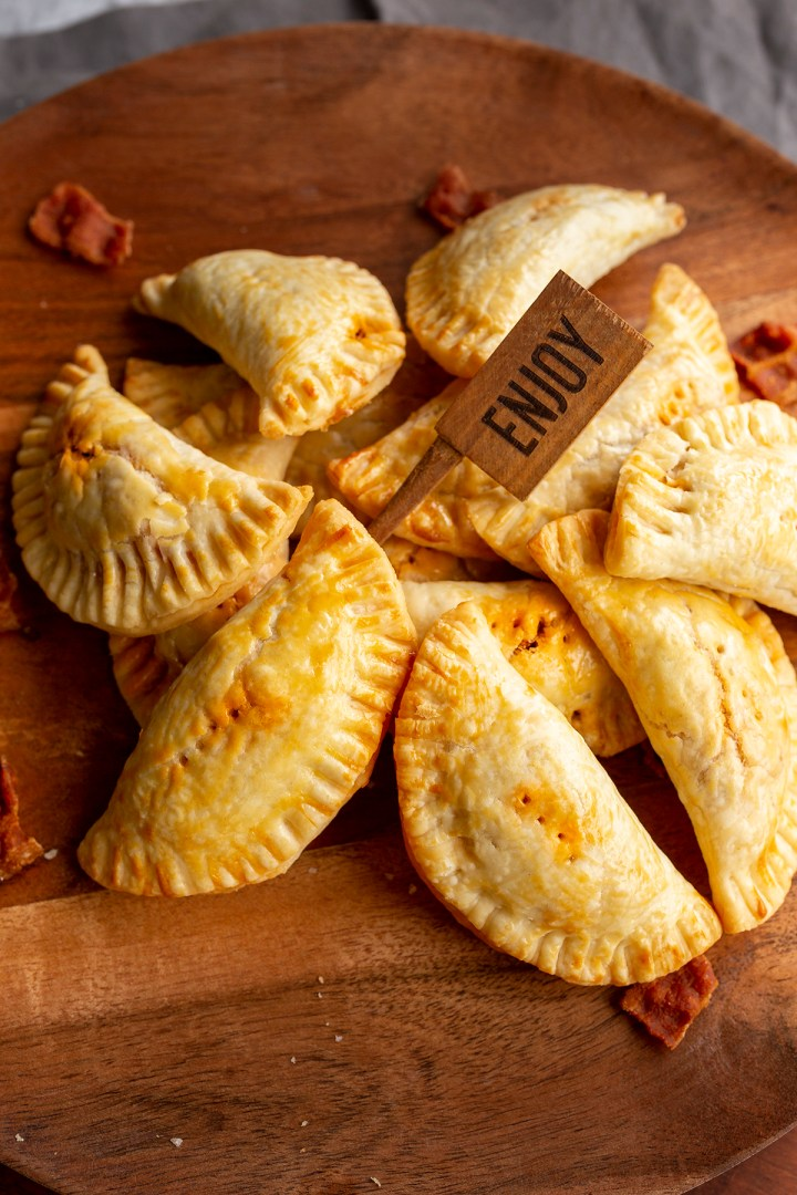 Sausage and Bacon hand pies empanadas recipe