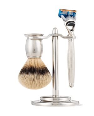Engraved Shaving Set