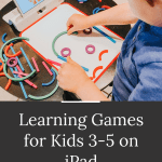 Learning Games for Preschool Kids on iPad and Fire Tablets