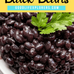 The Best and Easiest Black Beans Instant Pot Recipe