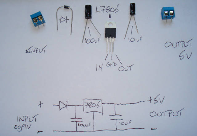 How To Build Different Out Voltages From 12v Battery Circuit Diagram