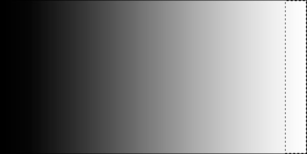 Gradient with selection