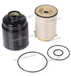 dodge ram 6 7l cummins diesel fuel filter water separator [ 900 x 900 Pixel ]