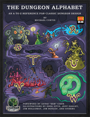 The Dungeon Alphabet cover