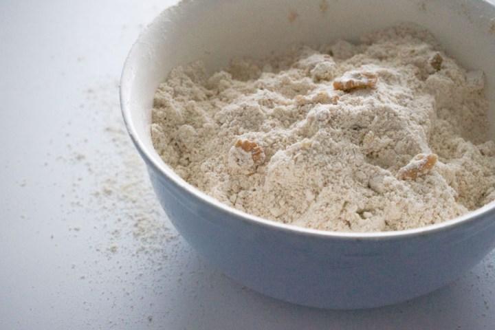 scones med valnøtter