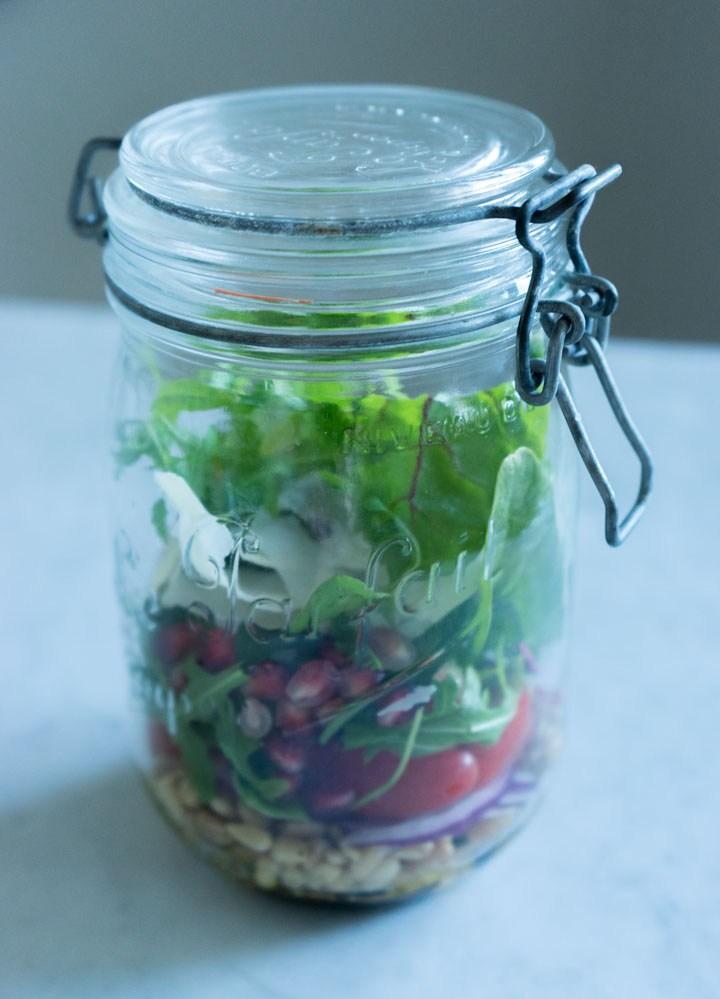 salat på glass 2