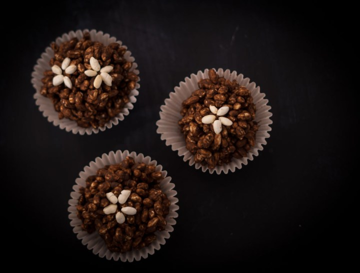 riskaker med sjokolade