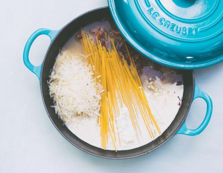 one pot pasta - carbonara