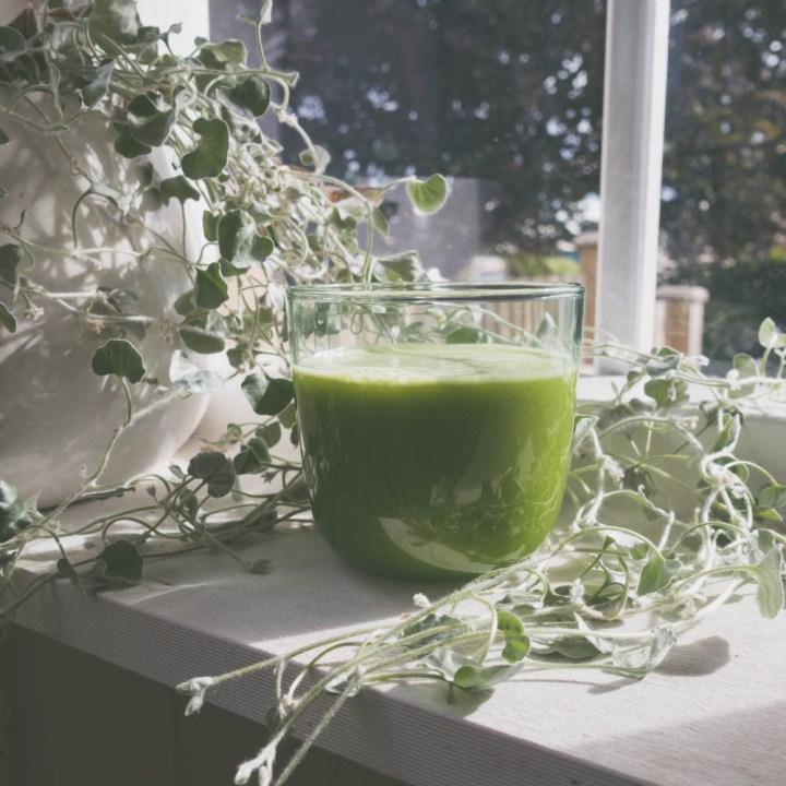 grønn god morgen juice