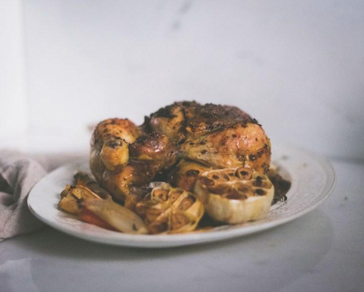 Pepper- og sitron kylling