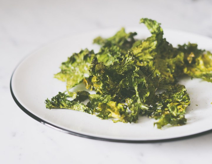 Kale chips, grønnkål chips