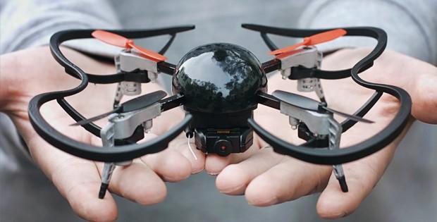 Micro Drone 3.0, technologie crowdfunding