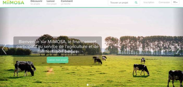 Miimosa, une plateforme de financement participatif Belge pour les agriculteurs
