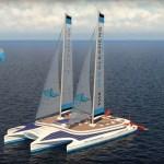 The Sea Cleaners, un voilier océanique qui récupère les déchets plastiques