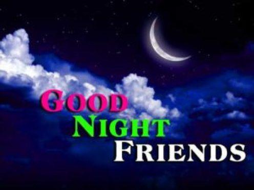 good night friends wallpape - scoailly keeda