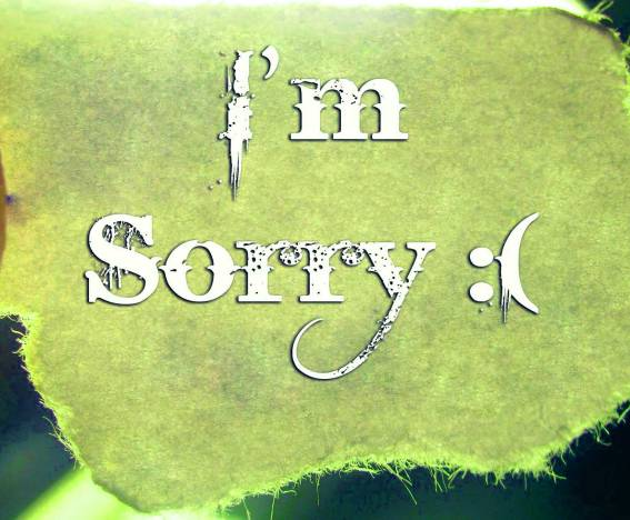 Sorry Whatsapp Dp Images Hd