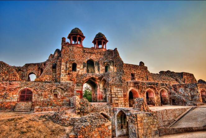 Download Good Morning Wallpaper With Quotes Old Delhi Purana Qila Photo And Purana Kila Images Old
