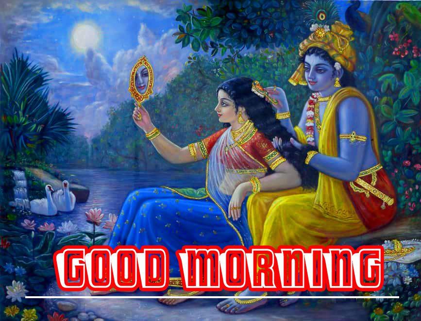 255 Radha Krishna Good Morning Images Hd Download