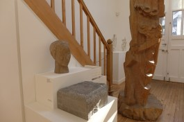 Paris Zadkine museum - in the artist's workshop