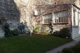 Paris Zadkine Museum - The garden