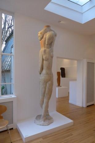 Paris Zadkine museum - the artist's house