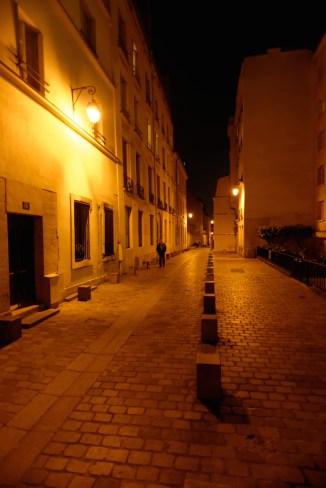 Rue Rollin-Paris latin quarter