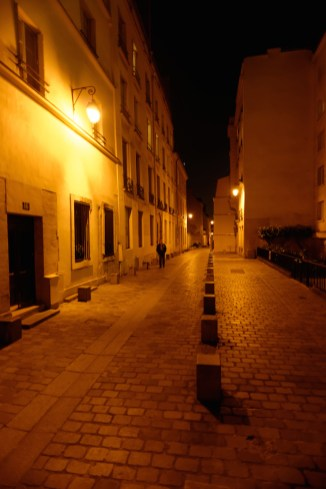 Rue Rollin-Paris latin quarter