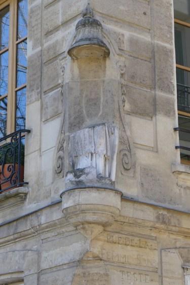 Ile saint louis-Rue de la femme sans tete