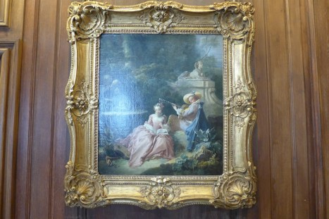 A painting by Bouche at Cognacq-Jay museum
