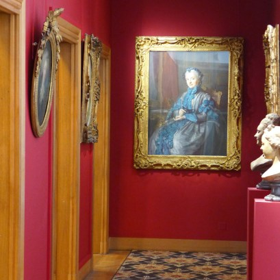 Cognacq-Jay museum Paris-portaits of women