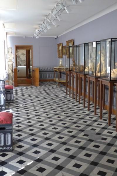 The Sculptures room at Cognacq-Jay museum Paris