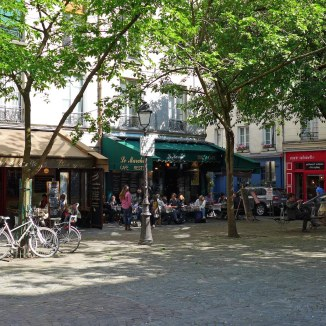 Place du Marché Sainte Catherine - Marais Paris