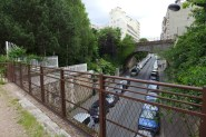 Towards the Petite Ceinture - Paris