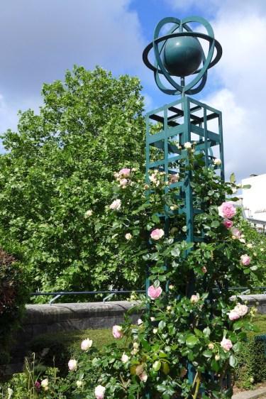 Promenade Plantee - Paris - a Rosebush