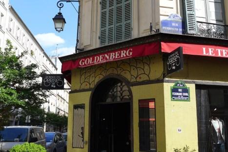 jewish area Marais -Goldenberg rue des Rosiers