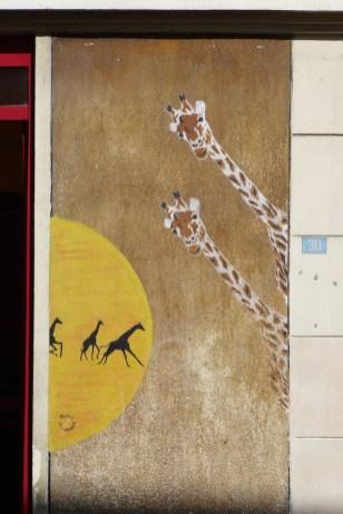 Giraffes by Mosko - Restaurant Chez Gladines