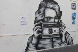 Street art Rue des Cinq diamants-La Butte aux Cailles