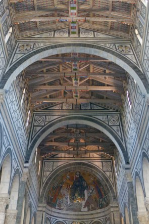 Florence-San Miniato-the ceiling