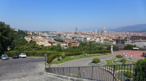 Florence-View from San Miniato