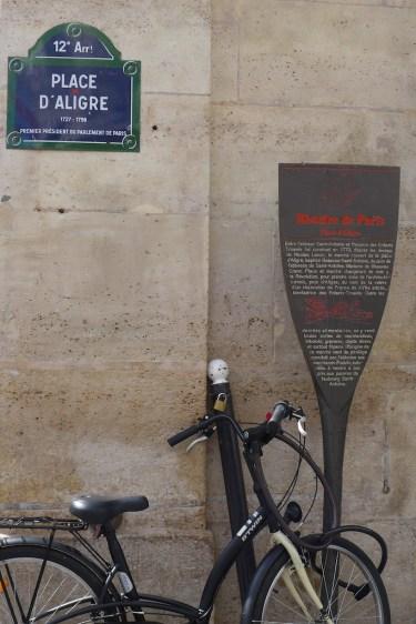 Marche Aligre Paris-History
