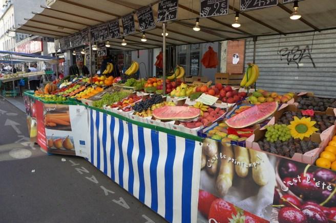 Marche Aligre Paris-fruit and vegetables
