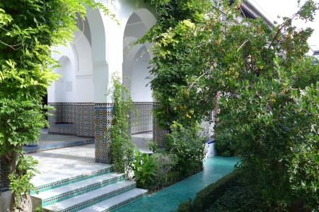 Paris-The Mosque-inside the patio