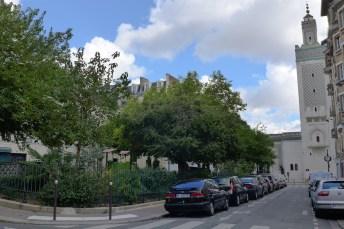 Paris-The Mosque-the minaret
