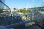 Beaugrenelle Paris-view from the footbridge