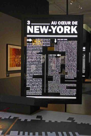 Exposition Scorcese-Paris-NewYork