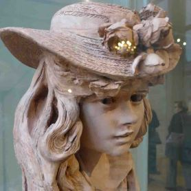 Musée Rodin-Paris-Young lady with a hat-Room1