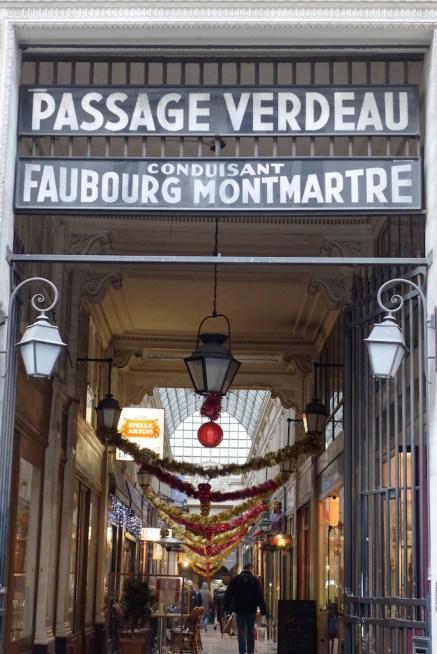 Passage Verdeau-Entrance